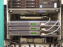 """Answering: """"What is a Web Host"""". Here are some Web Hosting servers, rack mounted."""