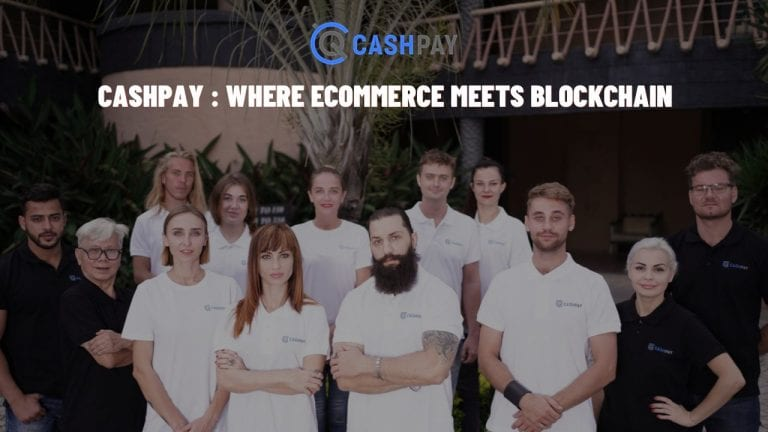 CashPay : E-Commerce Marketplace Powered by Cryptocurrency Launched