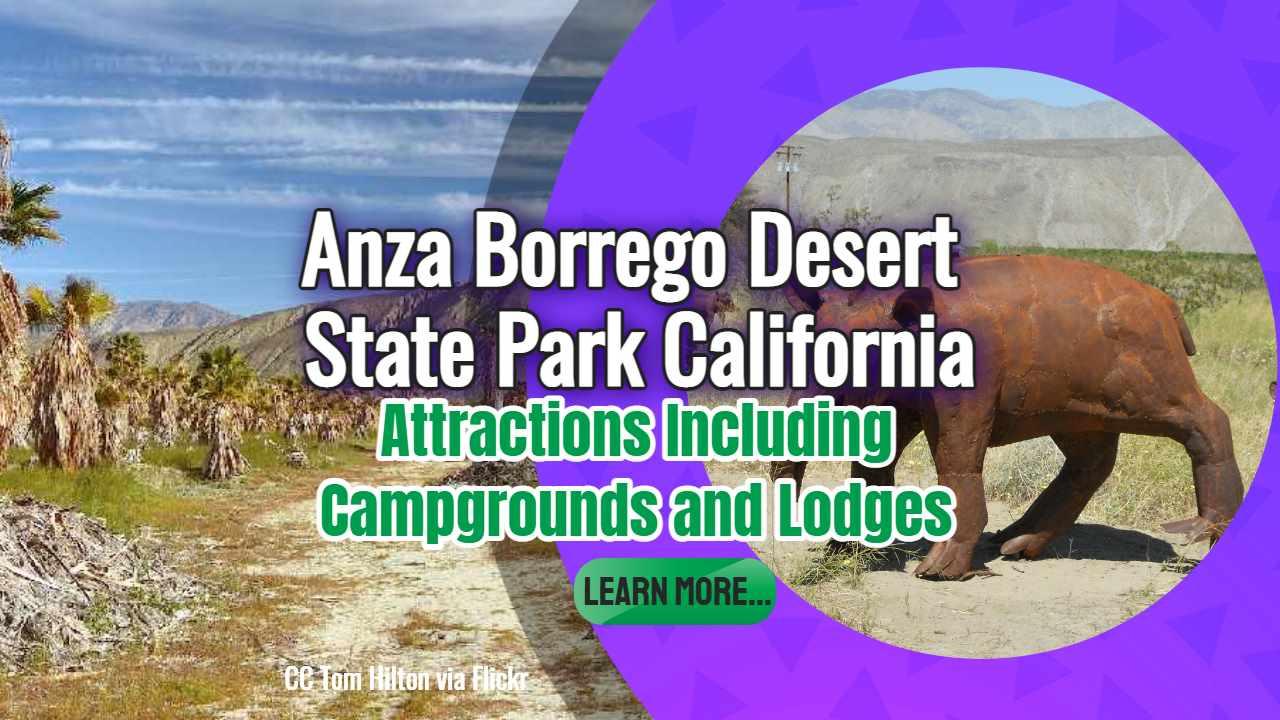 "Featured image text: ""Anza Borrego desert state park California""."