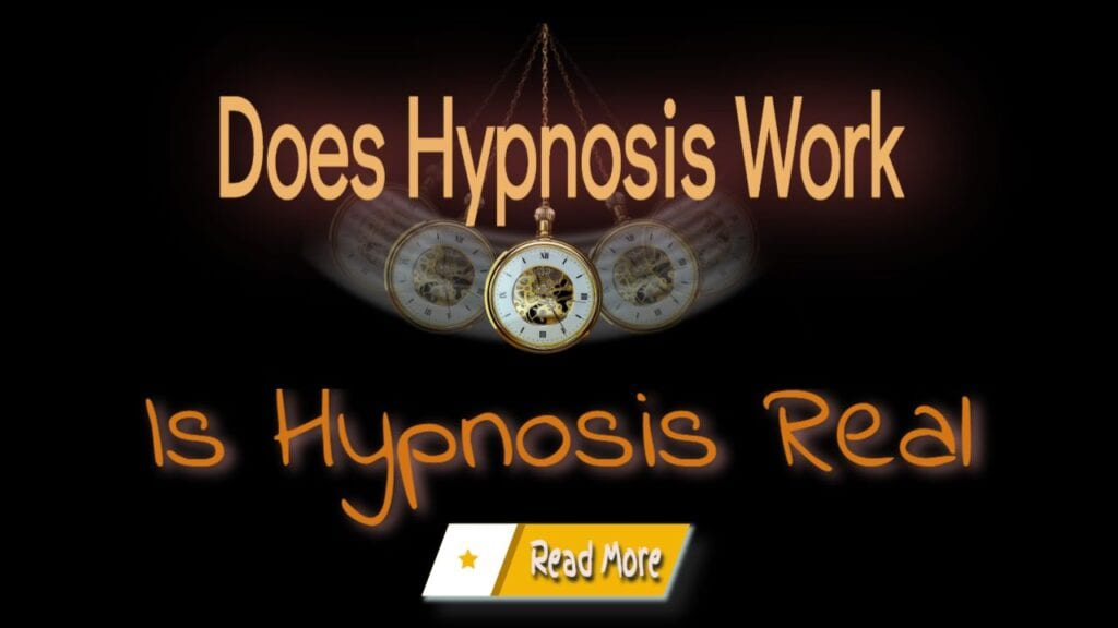 does hypnosis work is hypnosis real